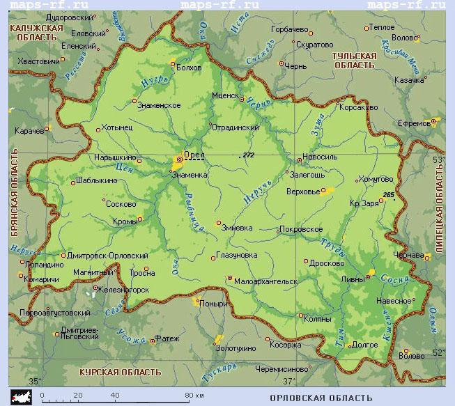 карта курской области по районам подробная взять кредит наличными в спб с плохой кредитной историей